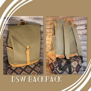 3/30<>Fabric Backpack by DSW
